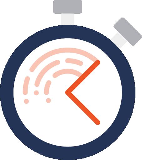 High pressure gauge icon