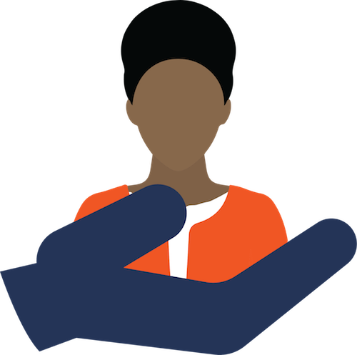 hourly worker retention icon