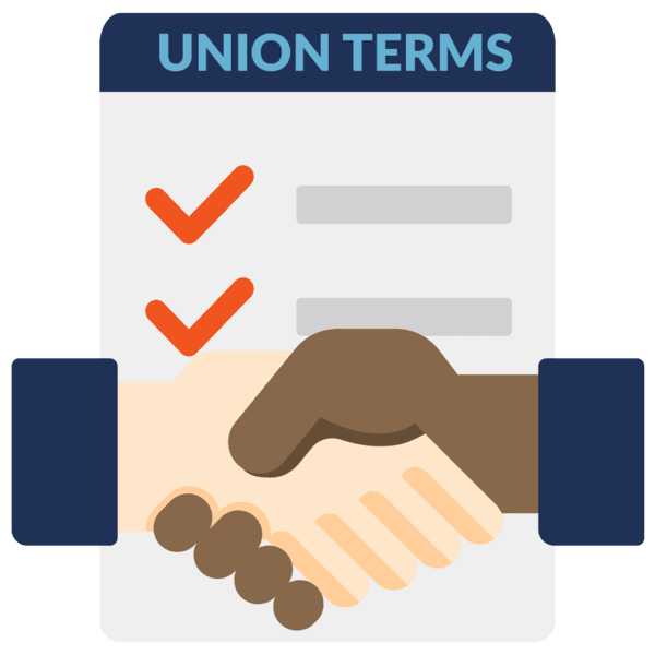union agreements icon