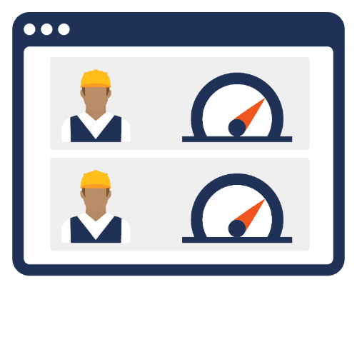 optimize scheduling to labor capacity icon