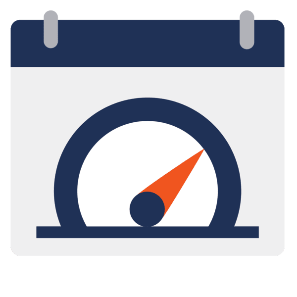 optimized schedules icon