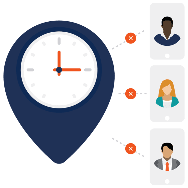 time tracking is hard icon