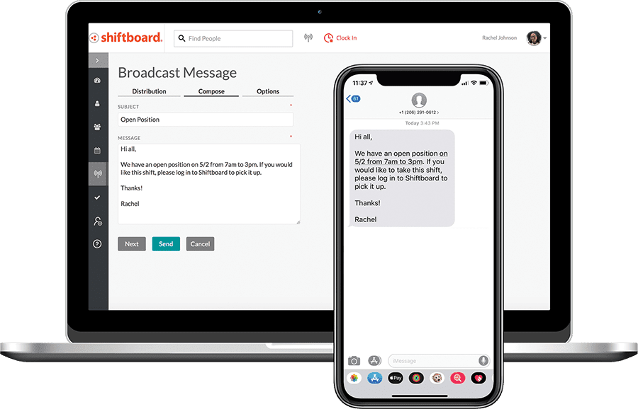 Broadcast Messages