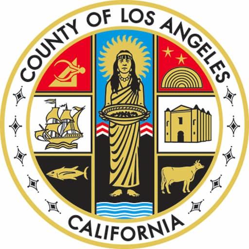 LA County logo color