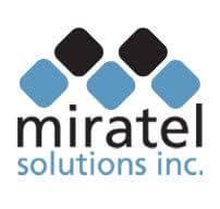 Miratel logo color